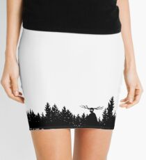 Led Through The Mist Mini Skirt