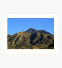 Mount Cotacachi and Blue Sky Art Print