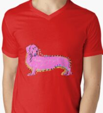 Always Keep Your Doxie Around You Mens V-Neck T-Shirt