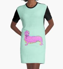 Always Keep Your Doxie Around You Graphic T-Shirt Dress