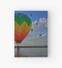 Hot-Air Balloons Hardcover Journal
