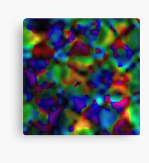 Rainbow Displacement Canvas Print