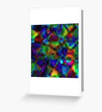 Rainbow Displacement Greeting Card