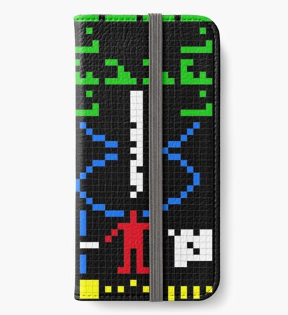 The Arecibo Message 003 iPhone Wallet