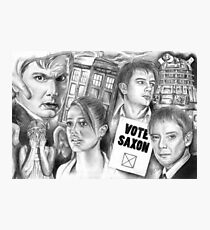 Doctor Who the sound of drums Photographic Print