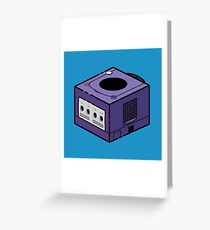 Nintendo Gamecube Greeting Card