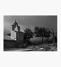 Mountain Chapel Photographic Print