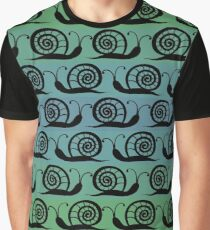 Pattern with snails Graphic T-Shirt