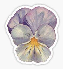 Watercolour Pansy Sticker