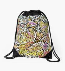Leaves #7d Drawstring Bag