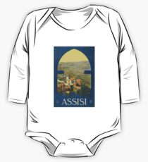 Assisi (Reproduction) Long Sleeve Baby One-Piece