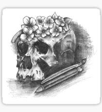 Art till you die Sticker