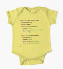 Java Code New Baby - implements Mum, Dad Kids Clothes