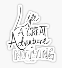 Great Adventure Sticker