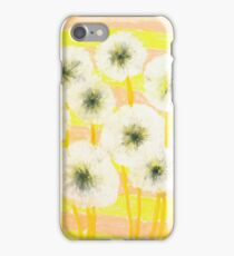 Ode to the dandelion iPhone Case/Skin