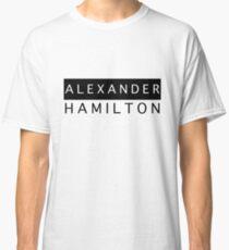 Alexander Hamilton Chic Classic T-Shirt