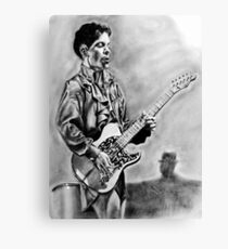 His Favorite Guitar Canvas Print