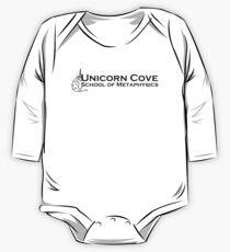 Unicorn Cove School of Metaphysics logo One Piece - Long Sleeve