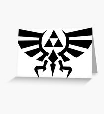 Timeless Triforce Greeting Card