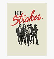 The Strokes Photographic Print