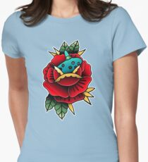 ocarnica rose Womens Fitted T-Shirt