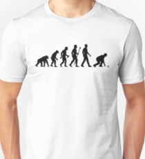 Funny Lawn Bowls Evolution Of Man T-Shirt