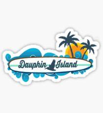 Dauphin Island - Alabama.  Sticker