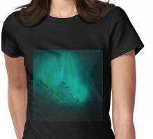 Night Music Womens Fitted T-Shirt