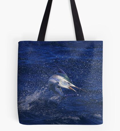 Marlin Canvas or Print - Juvenile Black Marlin Tote Bag
