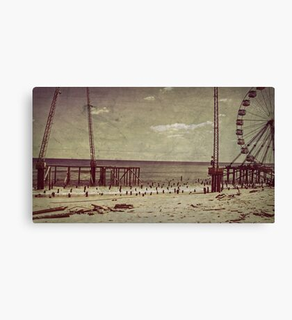 Seaside Heights After Sandy Canvas Print