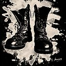 Old Boots bleached look by Bela-Manson