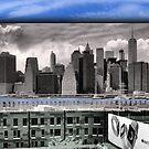 Lower Manhattan Skyline by steeber