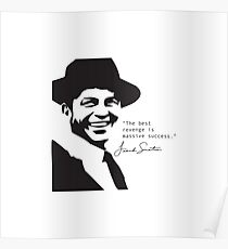Frank Sinatra Quote Poster