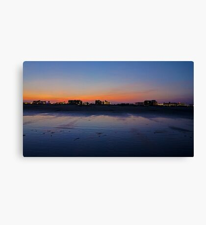 Wildwood Strip Sunset Canvas Print