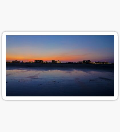 Wildwood Strip Sunset Sticker