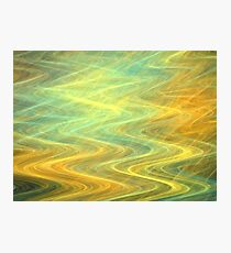 Sunshine Waves Photographic Print