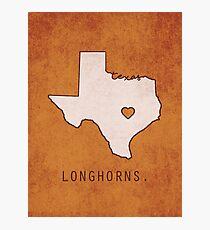 Texas Longhorns Photographic Print