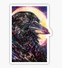 Space Raven Sticker