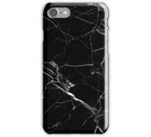BLACK MARBLE  iPhone Case/Skin