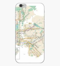 new york subway iPhone Case