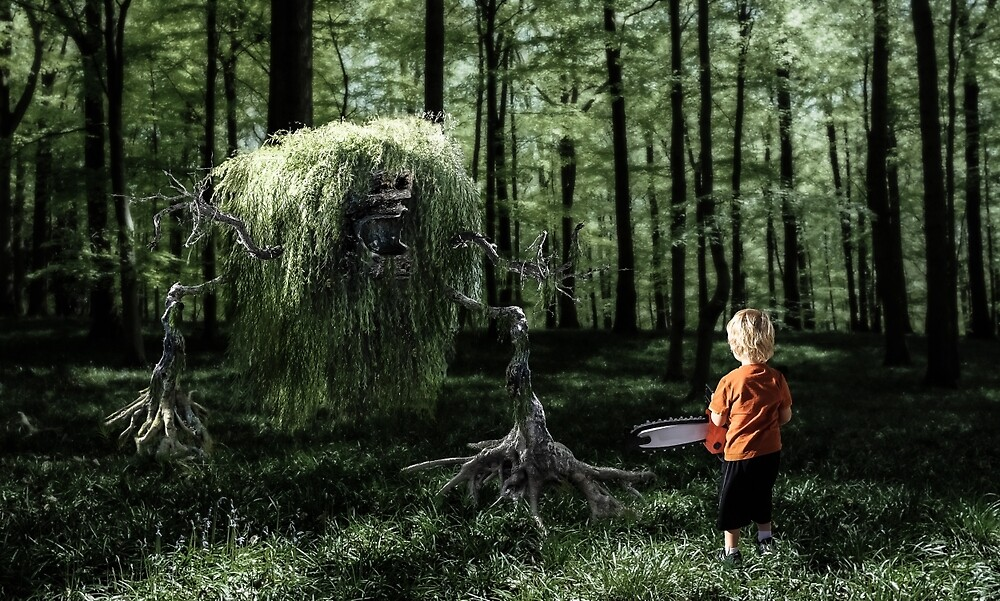 I Saw Something in the Woods by Randy Turnbow