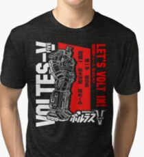 ROBOT VOLTES V  Tri-blend T-Shirt