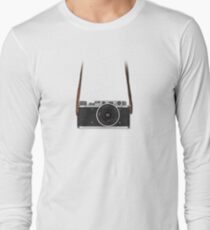 Vintage FED Leica with legendary RUSSAR MP-2 Long Sleeve T-Shirt