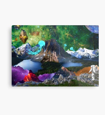 World Explorer 5 Metal Print