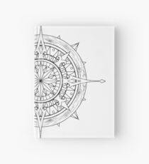Compass Mandala | Made For Color Hardcover Journal