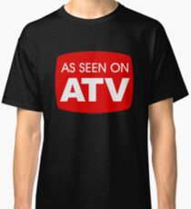 As Seen on ATV - Funny Quad Logo Classic T-Shirt