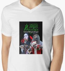 UZA Zombies Men's V-Neck T-Shirt