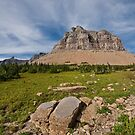 Pollock Mountain from Logan Pass by Jeff Goulden