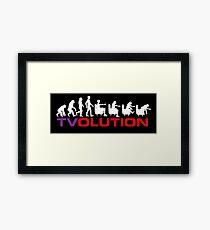 TVOlution Framed Print