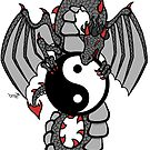 Yin Yang Dragon by Brett Gilbert